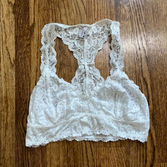Free People Other - White lacey bralette